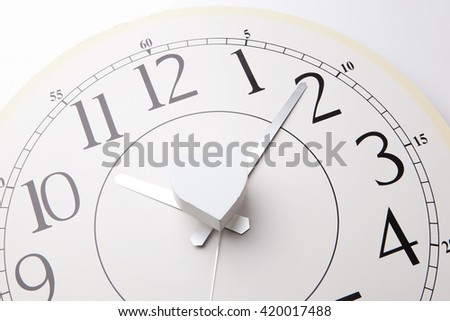 Heart icon on clock background