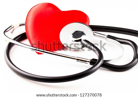 Heart medical care - stock photo