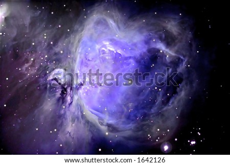 Heart of Orion - stock photo
