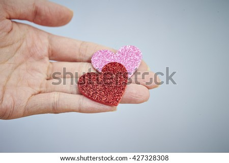 Heart on hand