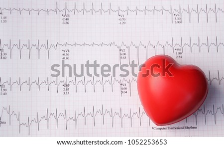 Heart pulse graphic curve line red stock photo image royalty free heart pulse graphic curve line with red heartheart rate infographic diagram from electrocardiogram chart ccuart Image collections