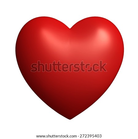 Heart shape classic beautiful Love symbol