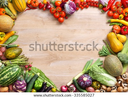 fruit table display heart healthy fruits and vegetables