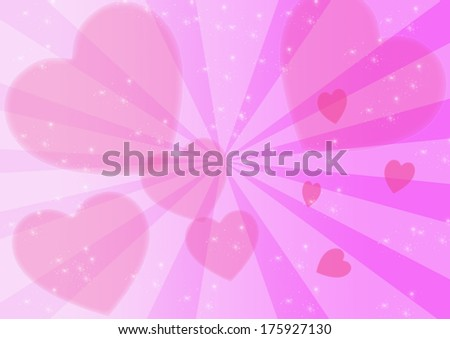 hearts texture background,Valentine's day background with hearts - stock photo