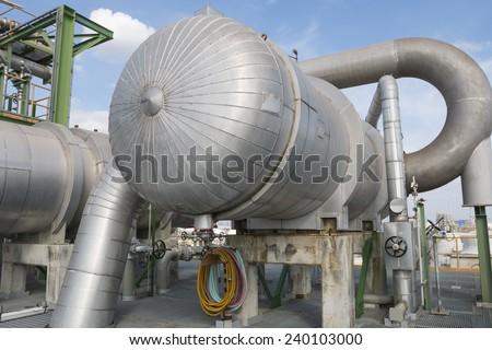 Heat exchanger  - stock photo