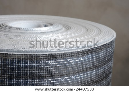 Heat insulation material in roll