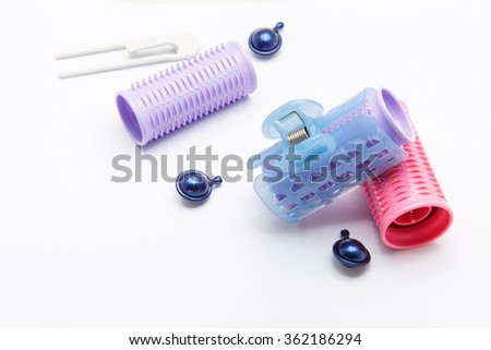 heated hair rollers