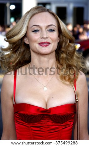 "Heather Graham at the Los Angeles Premiere of ""The Hangover"" held at the Grauman's Chinese Theater in Hollywood, California, United States on June 2, 2009."