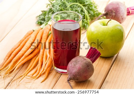 heathy juice  - stock photo