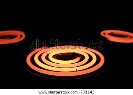 heating elements - stock photo