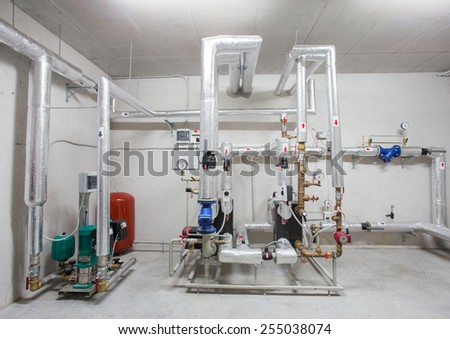 Heating system - stock photo