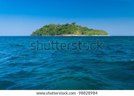 Heaven On Earth Idyllic Lagoon - stock photo