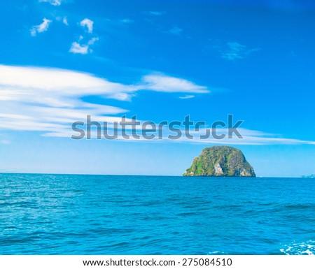 Heaven On Earth Marine Fantasy  - stock photo