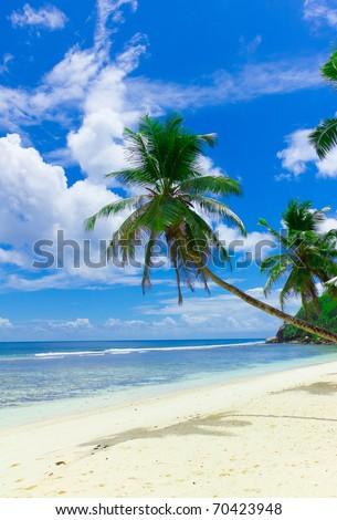 Heaven Seascape Clouds - stock photo