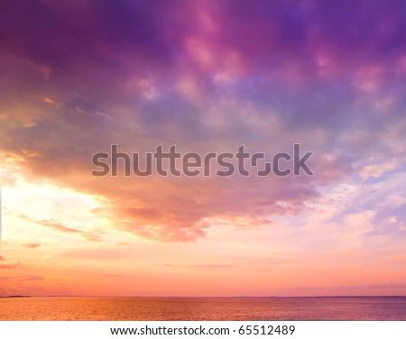 Heavens Flare Background - stock photo