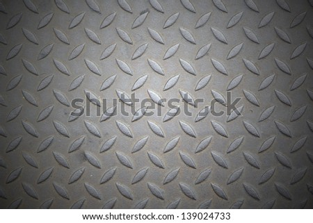Heavy duty gritty diamond plate