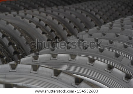Heavy duty tires. Industrial tires