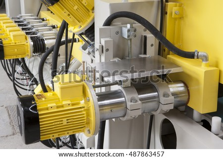 Heavy industry, electric motors.