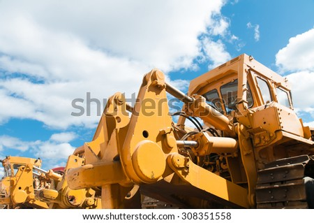 Heavy machinery - stock photo
