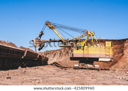 Heavy machinery Mining