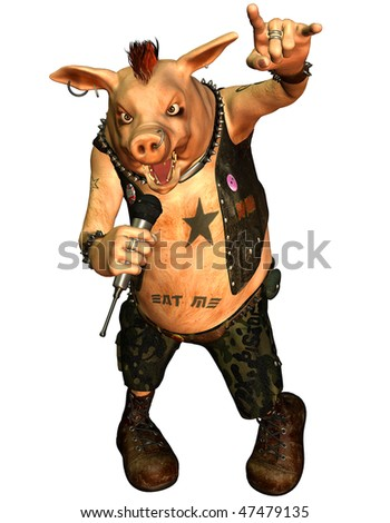 Heavy Metal Pig