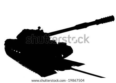 heavy tank T-10 of production of the USSR 1955 years. Battle mass is 50 tons. A crew is 4 men. High speed 50 km/hour.