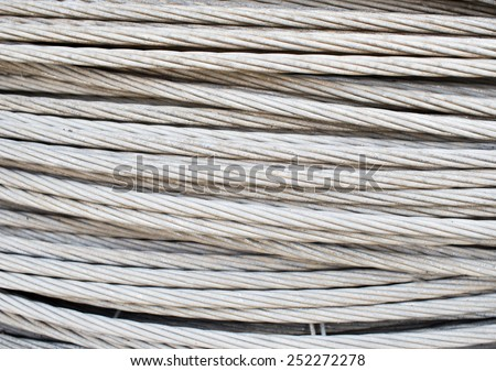 Heavy wire rope, heavy duty steel wire cable for heavy industrial use
