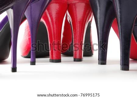 Heels - stock photo