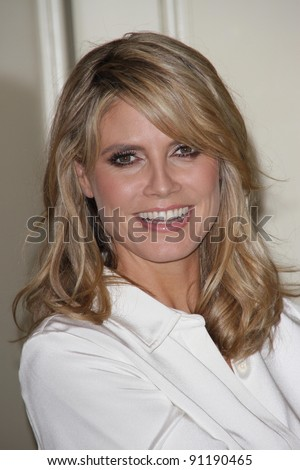 Heidi Klum Celebrates Holiday Shopping With QVC and 'Wildlife' By Heidi Klum Jewelry, Four Seasons Hotel, Beverly Hills, CA 11-21-11