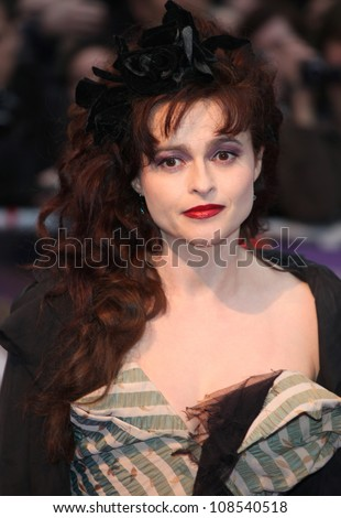 Helena Bonham Carter arriving for the European Premiere of 'Dark Shadows' at Empire Leicester Square, London. 09/05/2012 Picture by: Alexandra Glen / Featureflash - stock photo