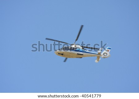 Helicopter - stock photo