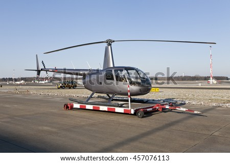 Helicopter At Airport