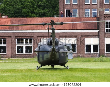 helicopter soldier