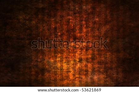 Hell from another angle - stock photo