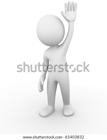 Hello - stock photo