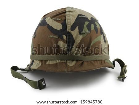 helmet military - stock photo