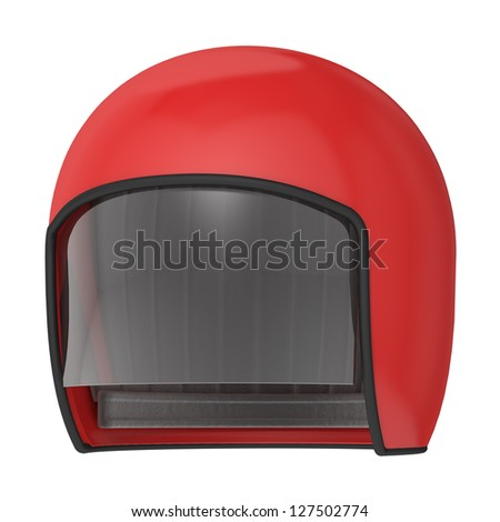 helmet on a white background