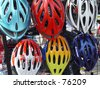 helmets - stock photo