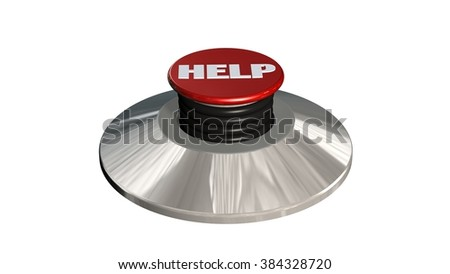 Help Button - isolated