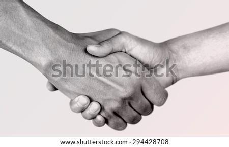 Help, hand, partnership. - stock photo