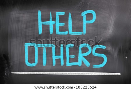 Help Others Concept - stock photo