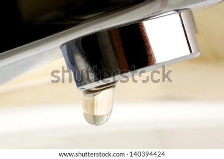 Help the Planet, Save Water  - stock photo