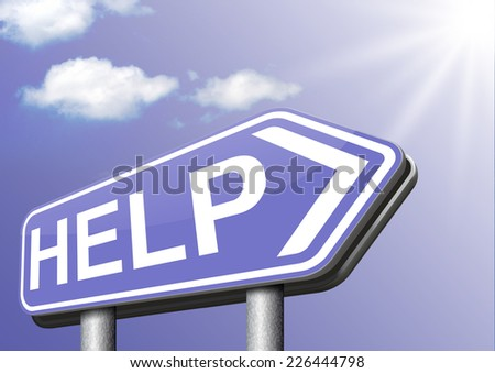 help wanted please give a helping hand to us we need support - stock photo