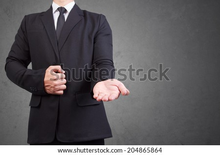 helping hand holding idea concept for business  - stock photo