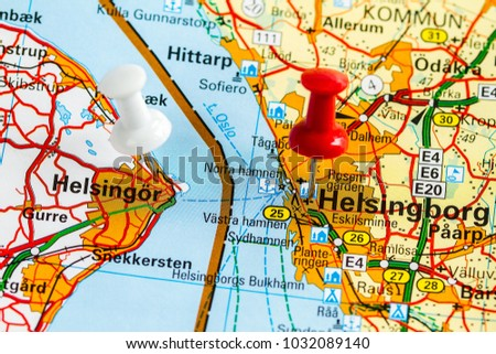 Helsingborg Sweden February 19 2015 Helsingborg Stock Photo Royalty