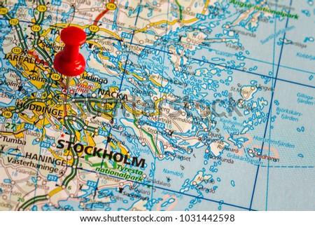 Helsingborg Sweden February 19 2015 Stockholm Stock Photo 1031442598