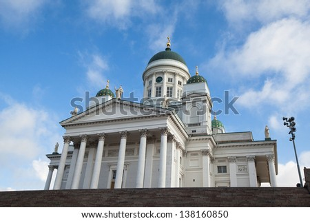 Helsinki Cathedral on Senate Square, Finland