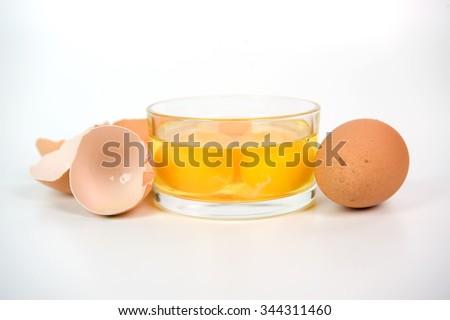 hen's egg - stock photo