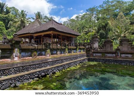 Hendu temple in Bali - stock photo