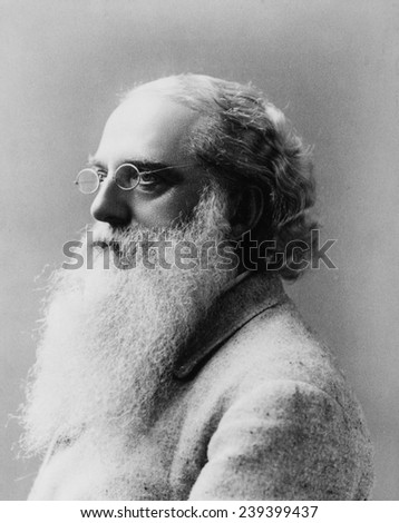 Henry Steel Olcott (1832-1907), American philosopher, with Helena Blavatsky and William Judge, founded the Theosophical Society in 1875, combines beliefs of Buddhism, Hinduism, and Christianity.